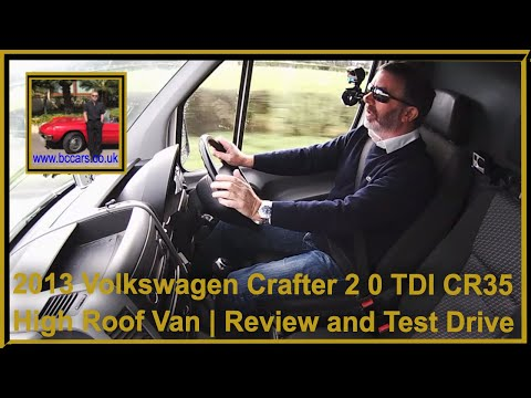 Review and Virtual Video Test Drive In Our Volkswagen Crafter 2 0 TDI CR35 High Roof Van