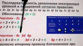Электронные формулы атомов (теория). Правила Клечковского, Хунда, принцип Паули