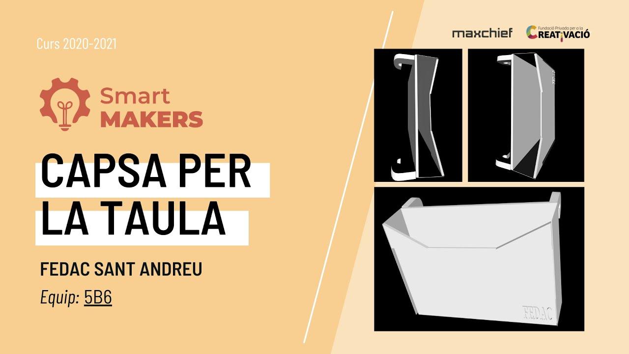 """""""Capsa per la taula"""" - FEDAC Sant Andreu"""