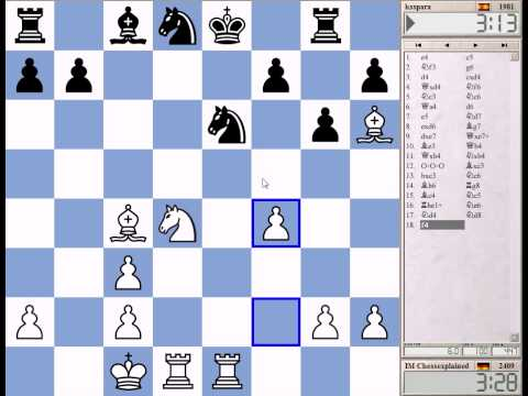 Blitz Chess #1024 With Live Comments Sicilian Hyper Accelerated Dragon