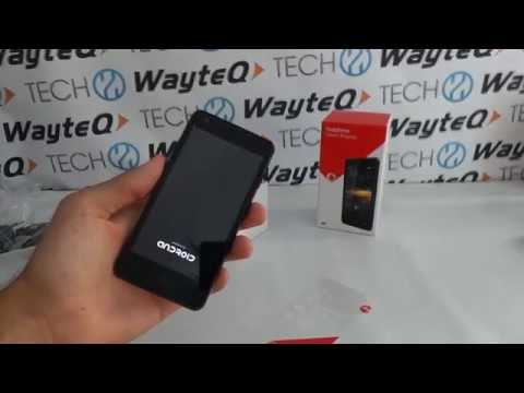Vodafone Smart 4 Turbo Quadrant kicsomagoló videó
