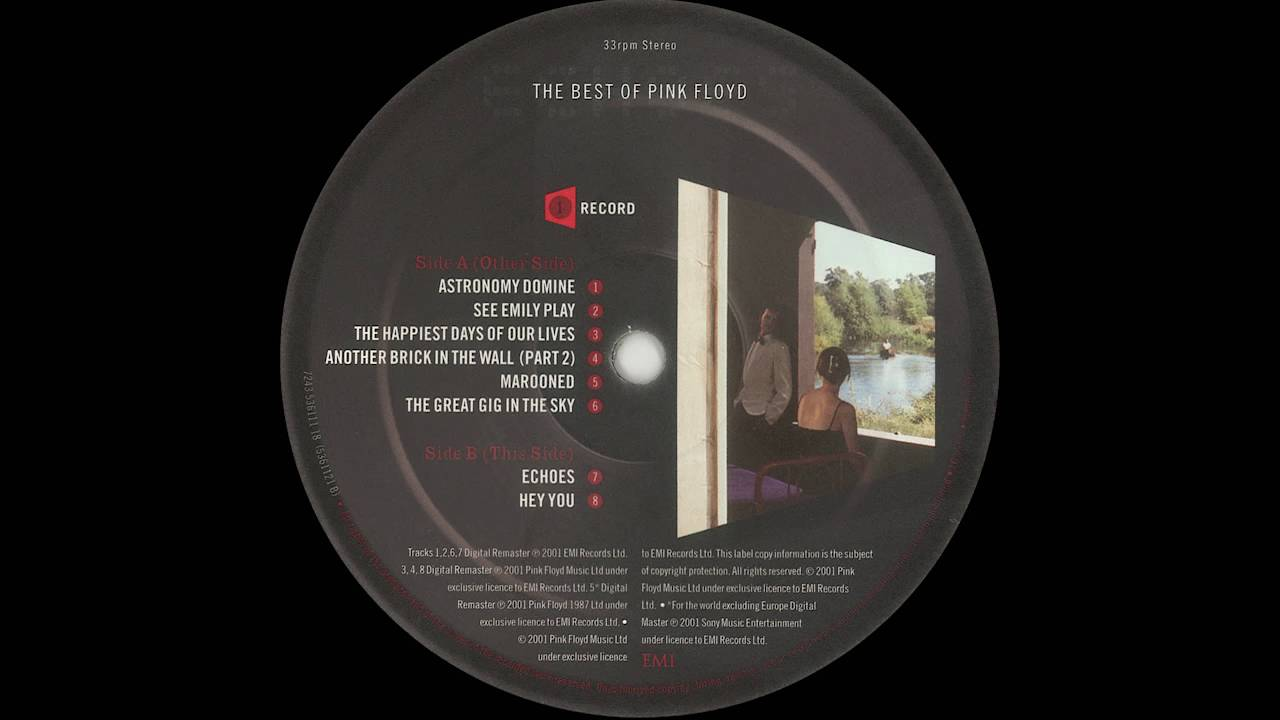 Pink Floyd - Echoes (Vinyl 1st issues, 2001 - Echoes, The ...