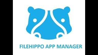 presentation FileHippo App Manager