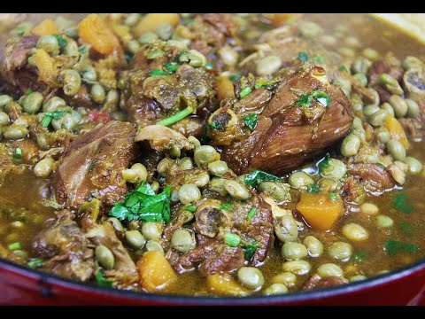 Stewed Chicken With Pigeon Peas | CaribbeanPot.com