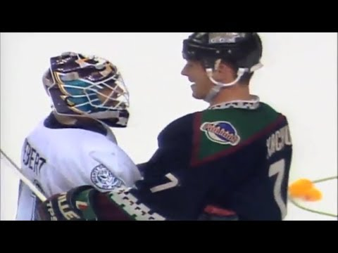 Highlights Migty Ducks of Anaheim - Phoenix Coyotes NHL Playoffs 1997