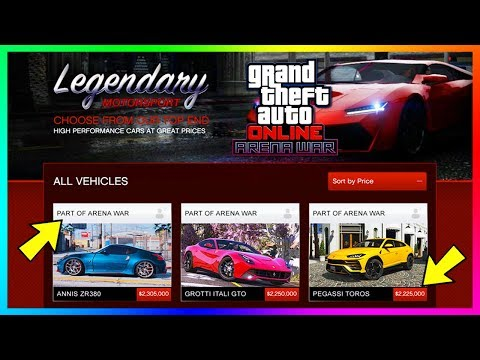 GTA Online Arena War DLC Update $75,000,000 Spending Spree - Buying All NEW Cars, Vehicles & MORE!