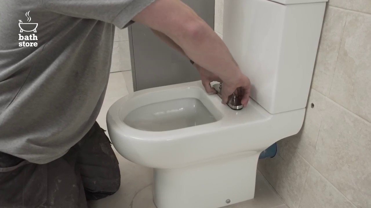 bathstore: How to replace a toilet seat - YouTube
