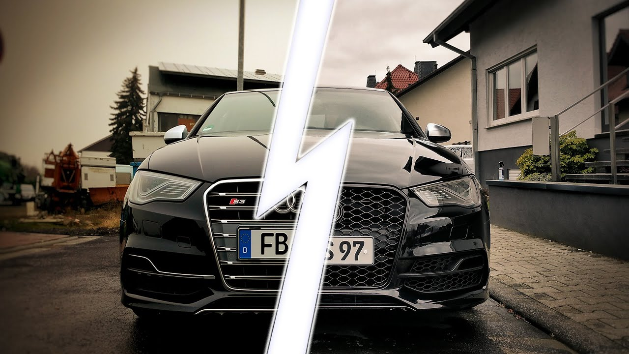 Audi A 3 Limousine >> Audi S3 8V Limousine - CarPorn I upgrade to Rs3 Front Grill - YouTube