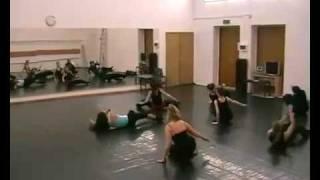 Видео с занятия джаз модерном ст�