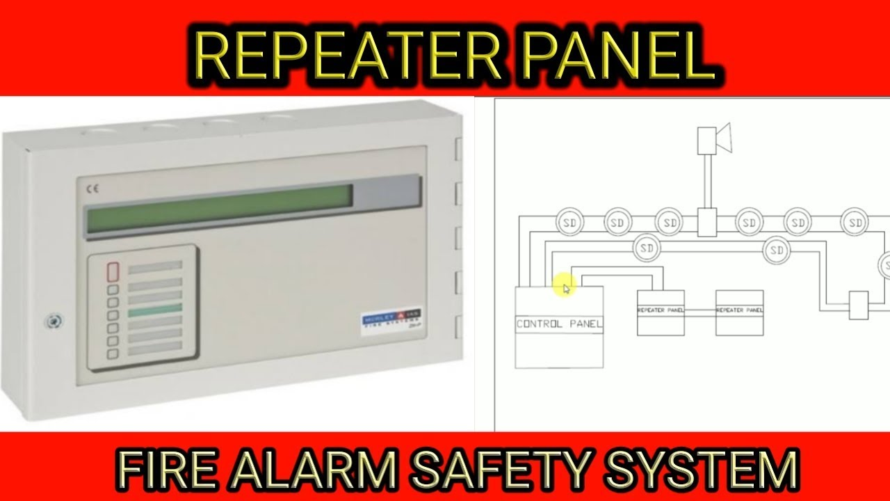 what is repeater panel fire alarm control panel  [ 1280 x 720 Pixel ]