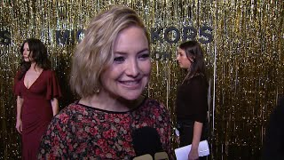 Kate Hudson Dishes on Jennifer Aniston's 'Great' 50th Birthday Bash! (Exclusive)