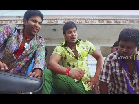 Sunny Leone Intro Scene - Manchu Manoj Batch Funny Comedy - Current Theega Movie Scenes