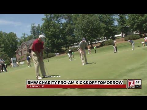 BMW Pro-Am Charity Golf Tournament Gets Underway