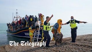 video: Second suspected migrant drowns in the Channel in two months