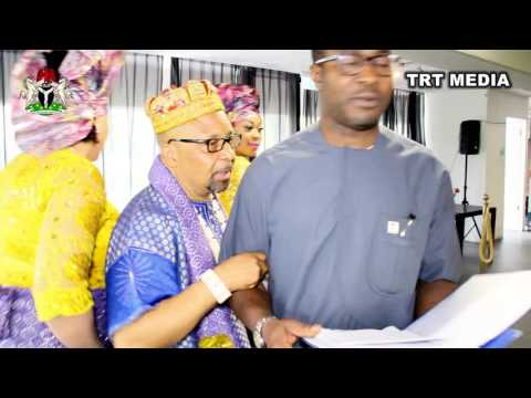 TRT: Inauguration Ceremony of the Executives of Nigerian National Association, Netherlands.