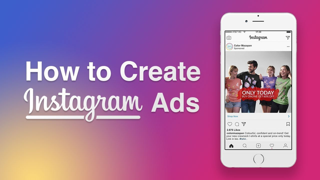 How To Create Instagram Ads Youtube