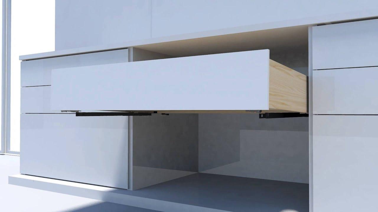 DTC Undermount Drawer Slides Installation - YouTube