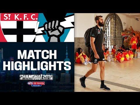 Shanghai Salute | St Kilda V Port Adelaide Highlights | Round 11, 2019 | AFL
