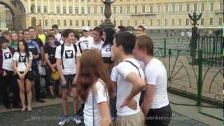 Павел Дуров на Дворцовой (Exclusive)