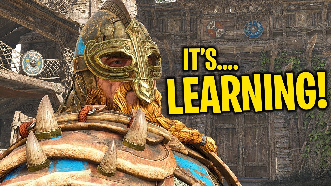 IT'S LEARNING!! - For Honor Funny Moments