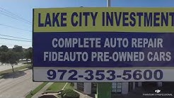 Lake Cities Investment Auto Repair, Lewisville, TX - Edited Drone video