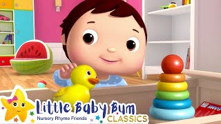 Tidy Up Song | Nursery Rhymes & Kids Songs! | Baby Songs | Learn with Little Baby Bum