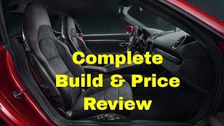 2018 Porsche 718 Cayman GTS Coupe Car Configurator - Build & Price Review