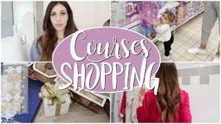 Shopping & Courses du samedi - VLOG