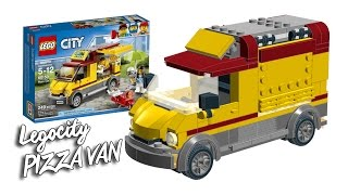 LEGO City 2017. Building 60150 PIZZA VAN. reverse engineering speed build!