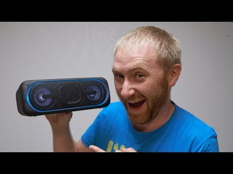 The Best Bluetooth Speaker?? Sony SRS-XB40 Review