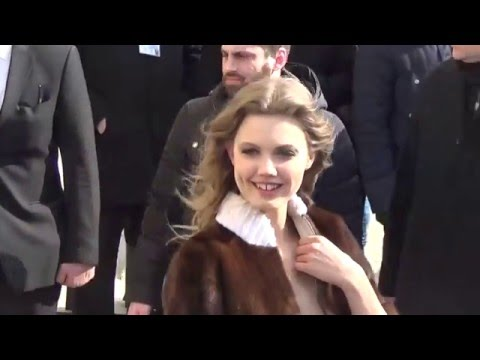 Top model Lindsey WIXSON @ Paris 8 march 2016 Fashion Week show Chanel