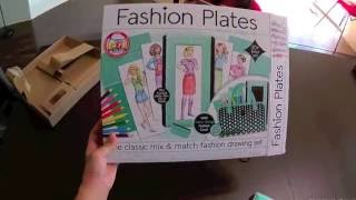 06 Trying out Fashion Plates Deluxe