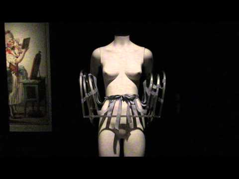 Bard Graduate Center - Fashioning the Body - 18th century pannier (reconstructed)  MVI 0123