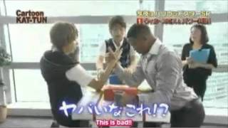 KAT-TUN and Will Smith (no copyright intended)
