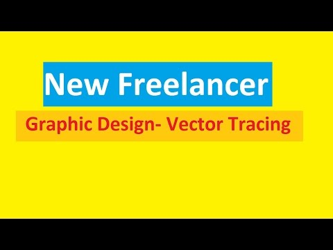 New Freelance-vector tracing | First make money bd | new freelancer