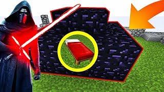 UNE BASE SÉCURISÉE AVEC UN SABRE LASER ! | Minecraft Bed Wars Moddé