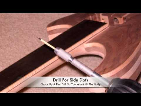 how to build a neck through guitar part 3 youtube. Black Bedroom Furniture Sets. Home Design Ideas
