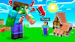 I SHRUNK My LITTLE BROTHER in Minecraft!
