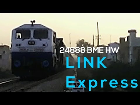 HONKING BEAST WDP4 with 24888 BARMER HARIDWAR LINK Express | The Rail Station