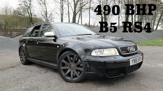 490 BHP B5 RS4 REVIEW | The Fastest Estate Car Of Its Generation
