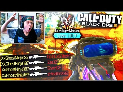"UNLOCKING ""LEVEL 1000"" BLACK OPS 3 GAMEPLAY Max Prestige in Call of Duty BO3 Multiplayer Dark Matter"