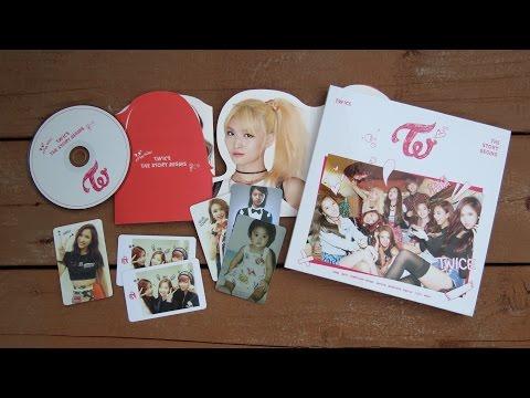 "[UNBOXING] Twice   ""Like Ooh Ahh"" The Story Begins (1st Mini Album)"