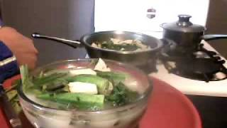 Vegetarian / Vegan Cooking: Sinigang 2 :hot And Sour Soup