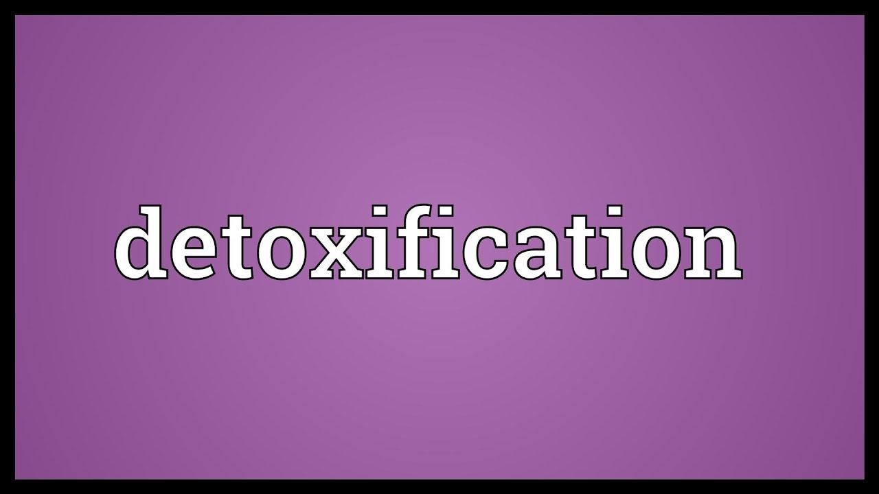 detoxifiere ten