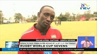 Kenya 7s  to face Tonga in rugby world cup sevens pre-round