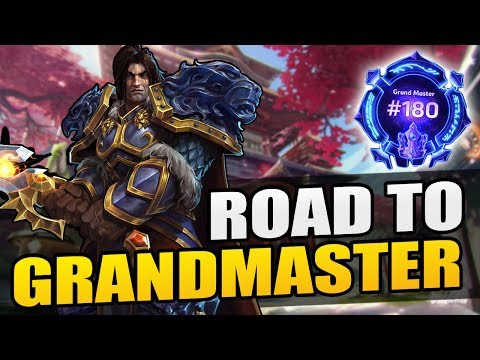 """Varian - """"double specialist gg"""" // Road to Grandmaster 2017 S1 // Heroes of the Storm"""