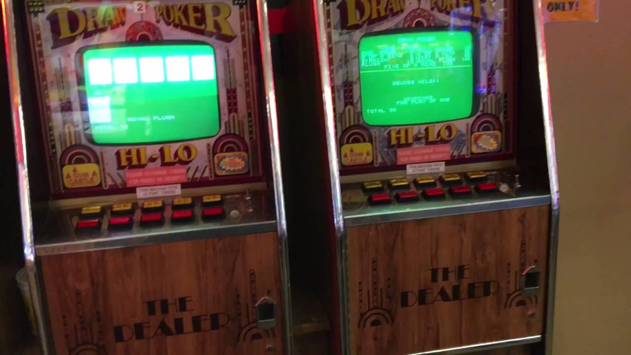 Rare Joker Poker Machine Cherry Master - YouTube