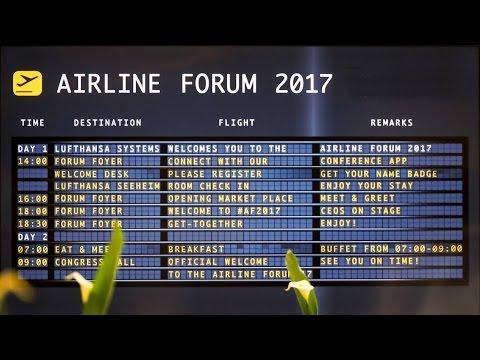 Lufthansa Systems Airline Forum 2017