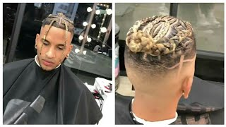 Asap Rocky Inspired Hairstyle Afro Haircut Youtube
