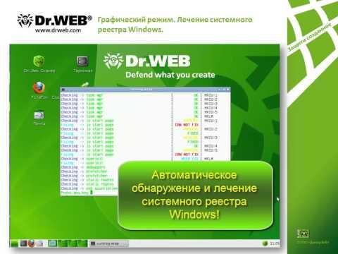 Удаление вирусов с помощью Dr.Web LiveCD